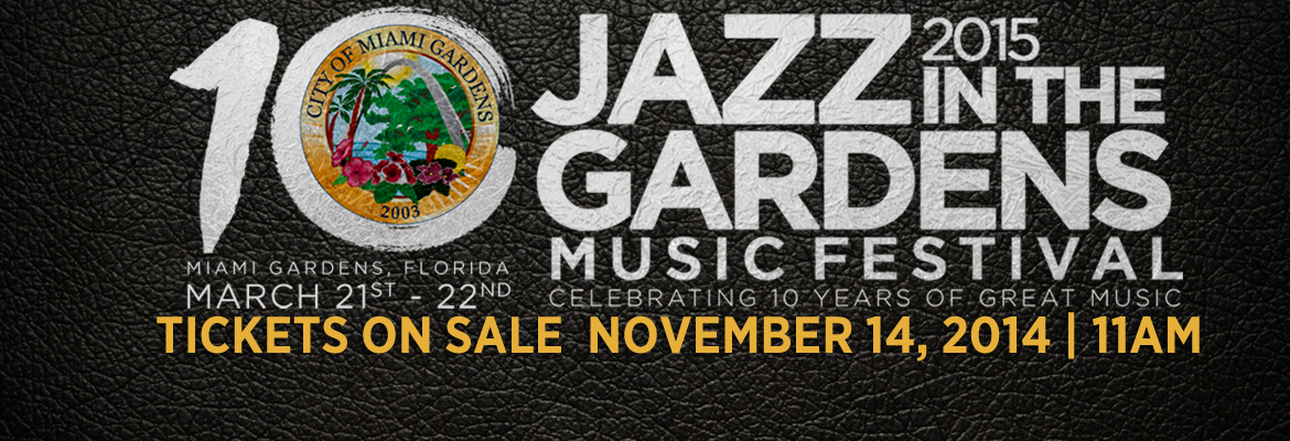 Tickets Go On Sale Today At 11am For 2015 Jazz In The